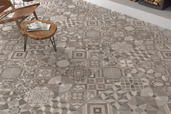 Powder detalle warm 60X60 floor tiles