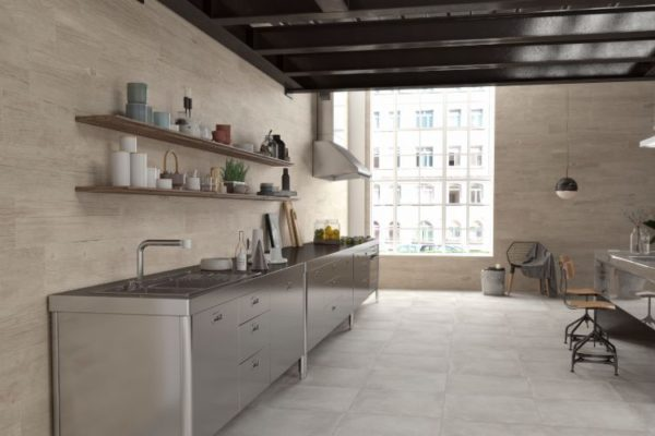 Powder 12 nest concrete 60X60 floor tiles