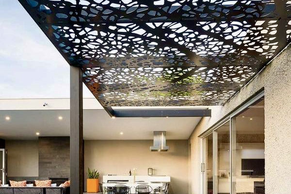 Modern canopy design pergola