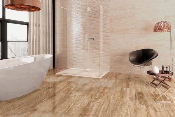 Reale marble flooring