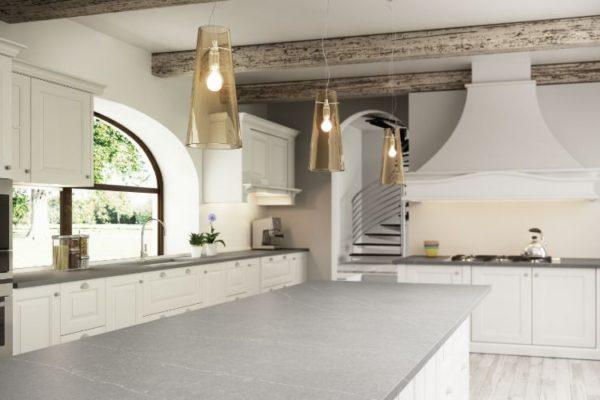 Eternal Serena silestone kitchen