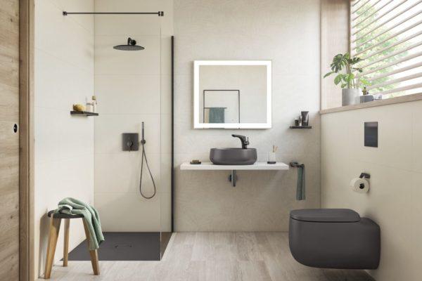 Roca Beyond black WC Suites