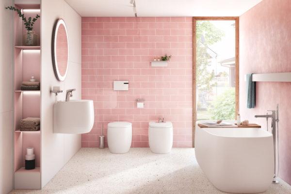 Joy velvet pink roca
