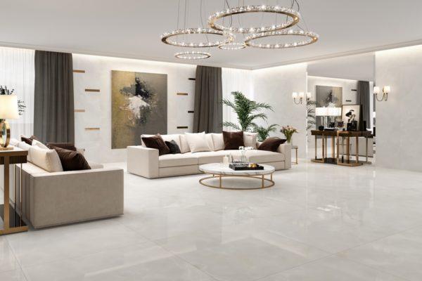 Girgio Selene marble flooring
