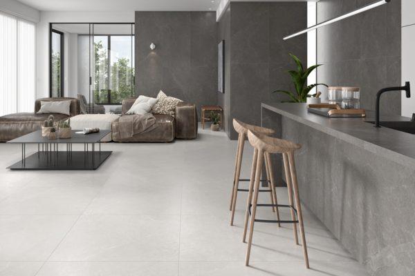 Storm white flooring
