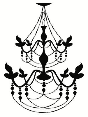 Floral decorative wrought iron light