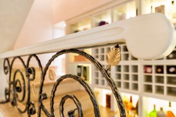 Circula railings staircase