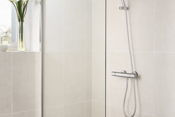 T-1000 Thermostatic wall-mounted shower mixer