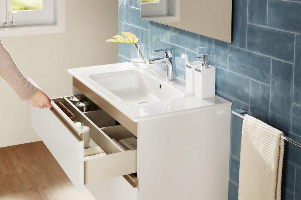 Roca set cabinet with washbasin