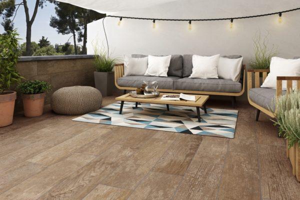 Taren amber wood floor