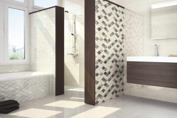Elegant daino marble flooring
