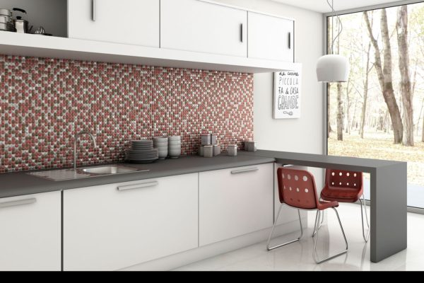 Aura coral mosaic art