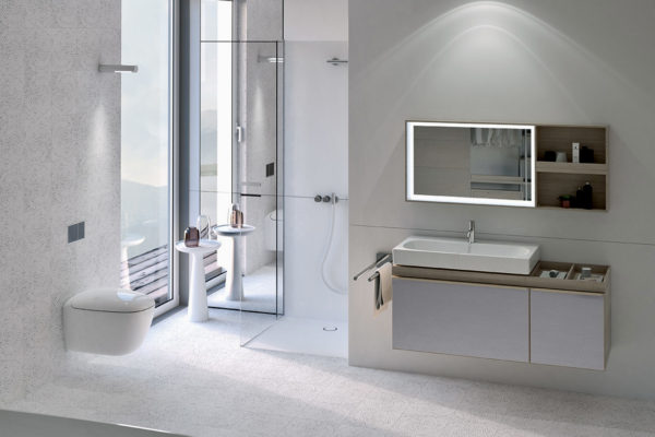 Elegant geberit bathroom