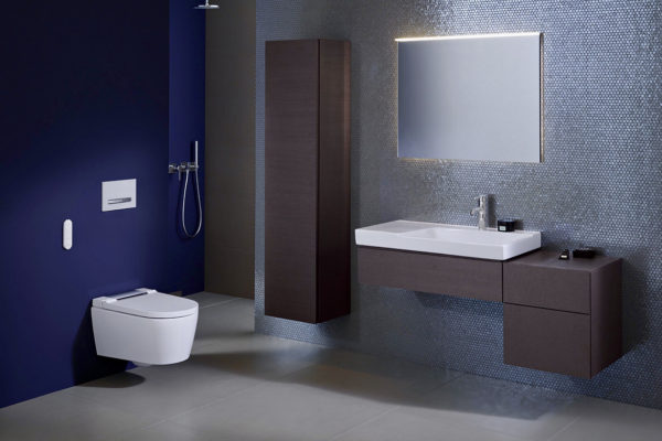 Geberit smyle and aquaclean sela shower toilet