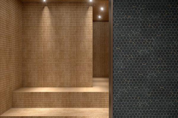 Black sahara mosaic