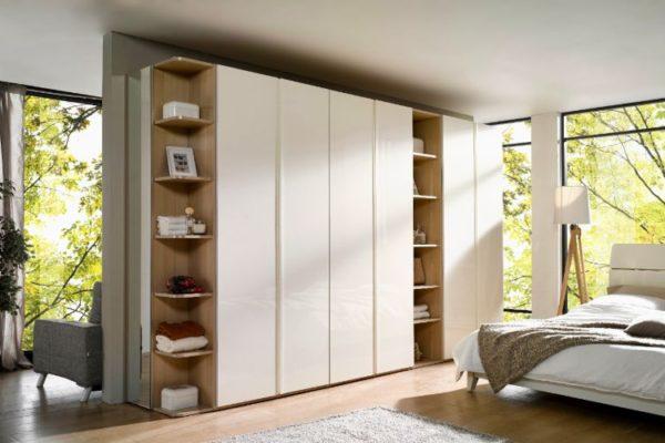 White large size wardrobes