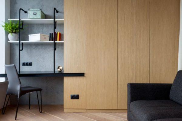 Magnificient wooden wardrobe
