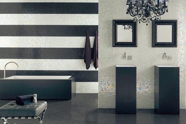 Titanium mosaic