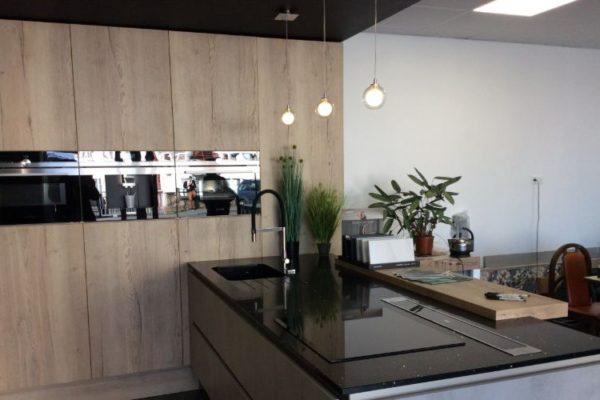Modern kitchen top design with sink