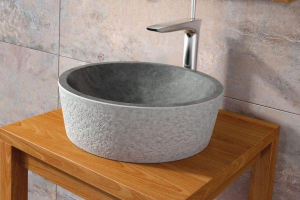 Round basin thick ceramic wash basin