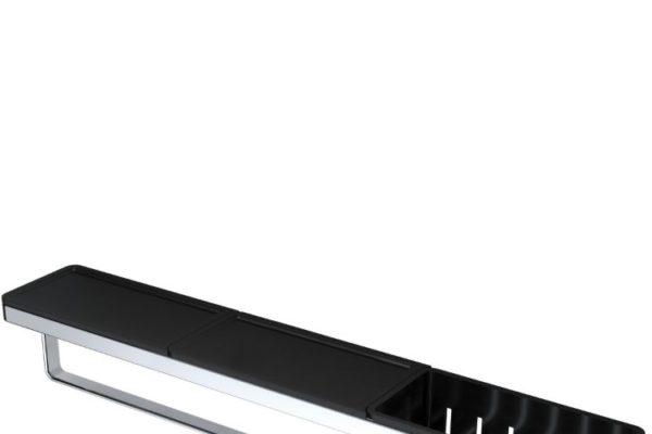 Geesa black bathrooom accessories