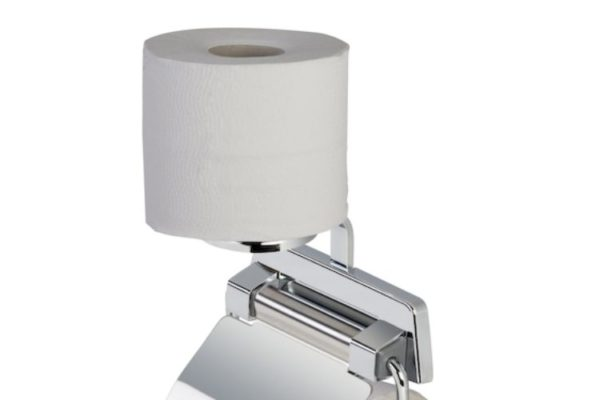 double tissue holder with tissue