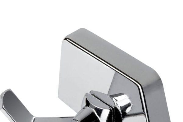 Elegant steel sink tap