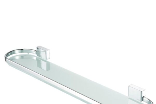 glass shelf wall mount