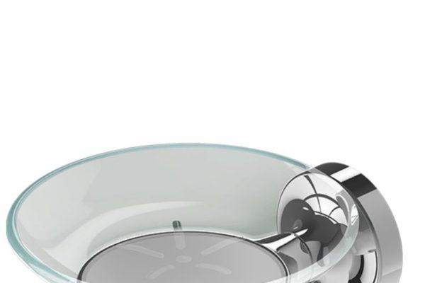 Geesa glass soap holder