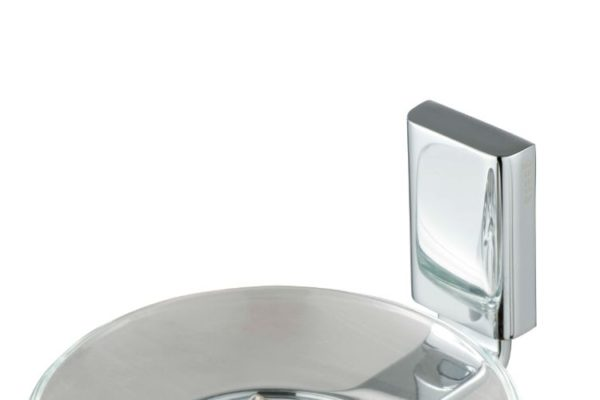 Stainless steel wall mount soap holder