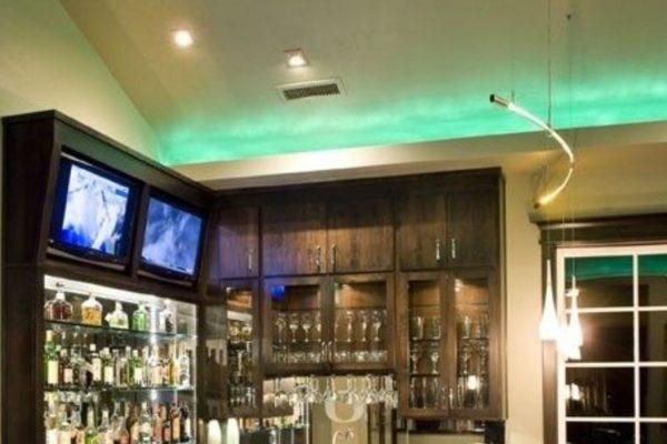 Bar at home design
