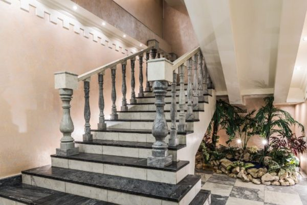 perfect granite staircases