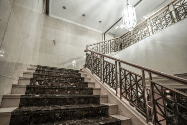 Magical duo color granite staircases