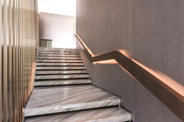 Elegant granite staircases