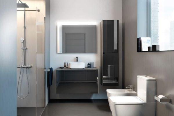 Modern bath cabinets