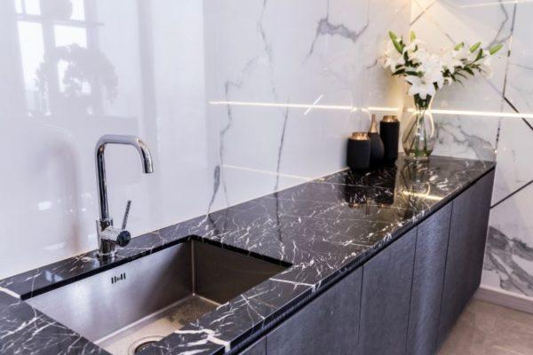 Modern design kitchen sink