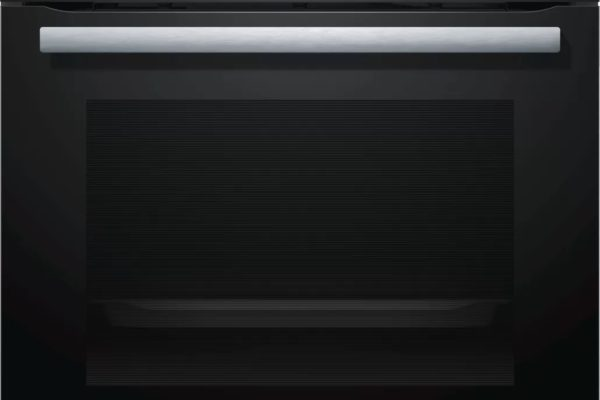 Black stainless steel Bosch oven