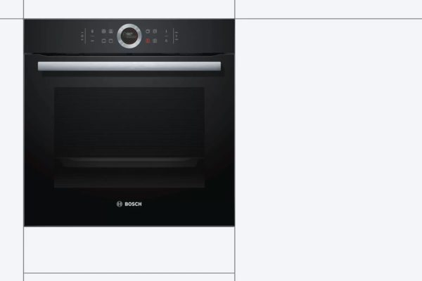Bosch series 6 and 8 black oven