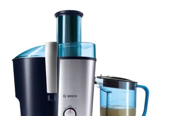 Centrifugal juicer 700W blue jug with juice