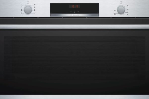 Bosch black 90 by 90cm Built-in-oven