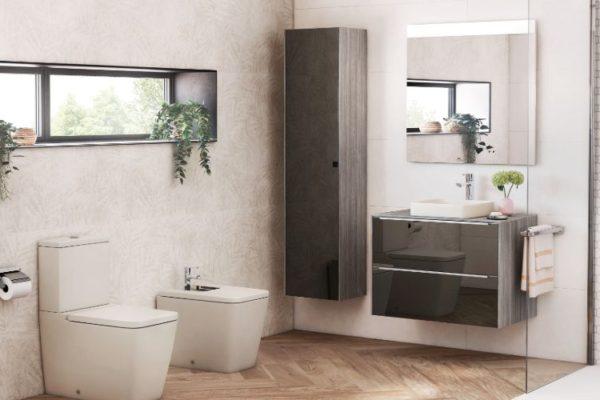 Roca vertical bathroom cabinets