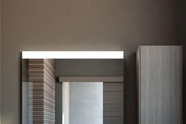 Roca polished bathroom cabinet