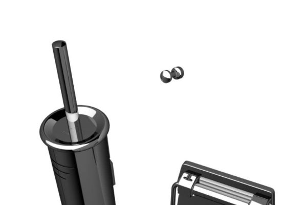black stainless steel accessory