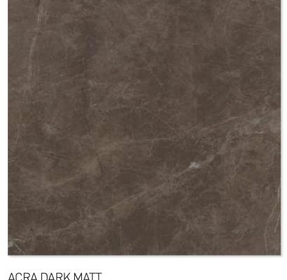 Acra dark matt 60y60cm floor tiles