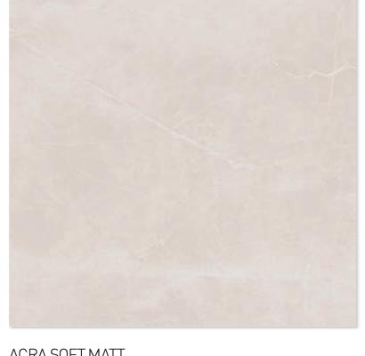 Acra soft matt 60y60cm floor tiles