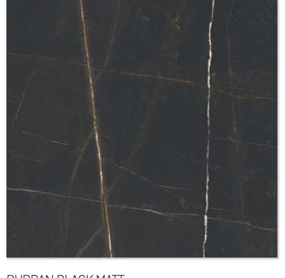Durban black matt 60y60cm floor tiles