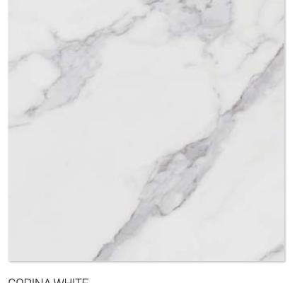 Godina white 60y60cm floor tiles