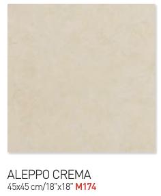 Tortilla brown aleppo crema 45by45cm floor tiles