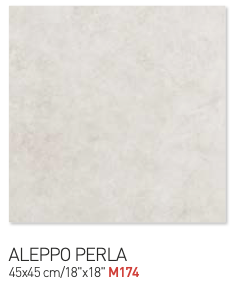 Rhino gray aleppo perla 45by45cm floor tiles