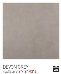 Devon gray 45by45cm floor tiles